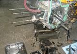 まずはエンジンから。の画像